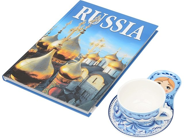 Набор «Моя Россия», гжель