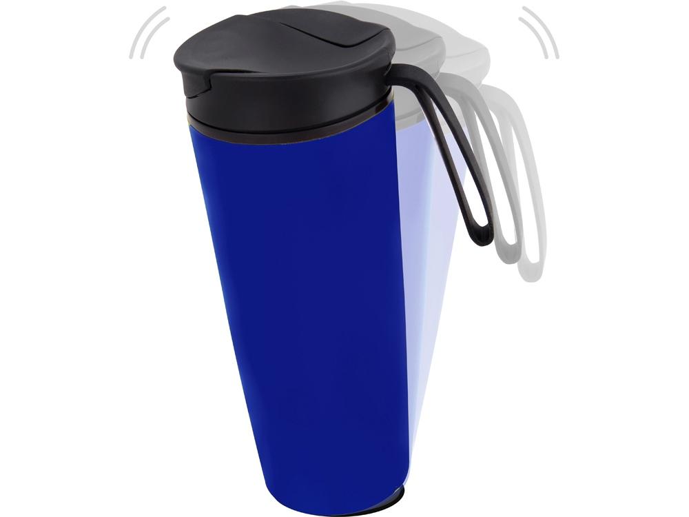 Термокружка Годс 470мл на присоске, синий