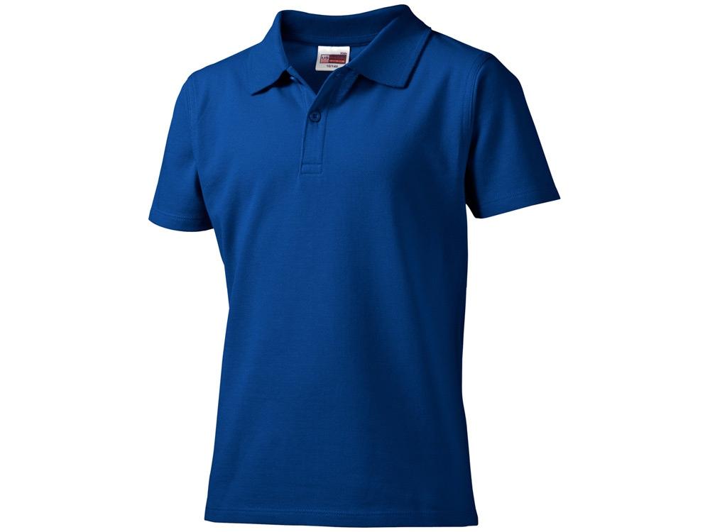 Рубашка поло First детская, классический синий