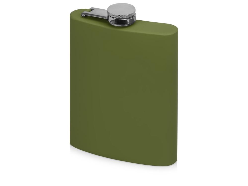 Фляжка 240 мл Remarque soft touch, зеленый милитари