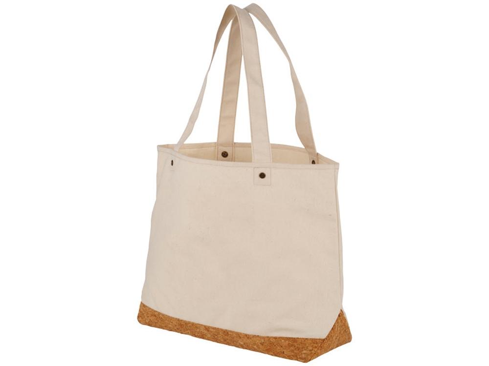 Эко-сумка Napa из хлопка и пробки плотностью 406г/м²