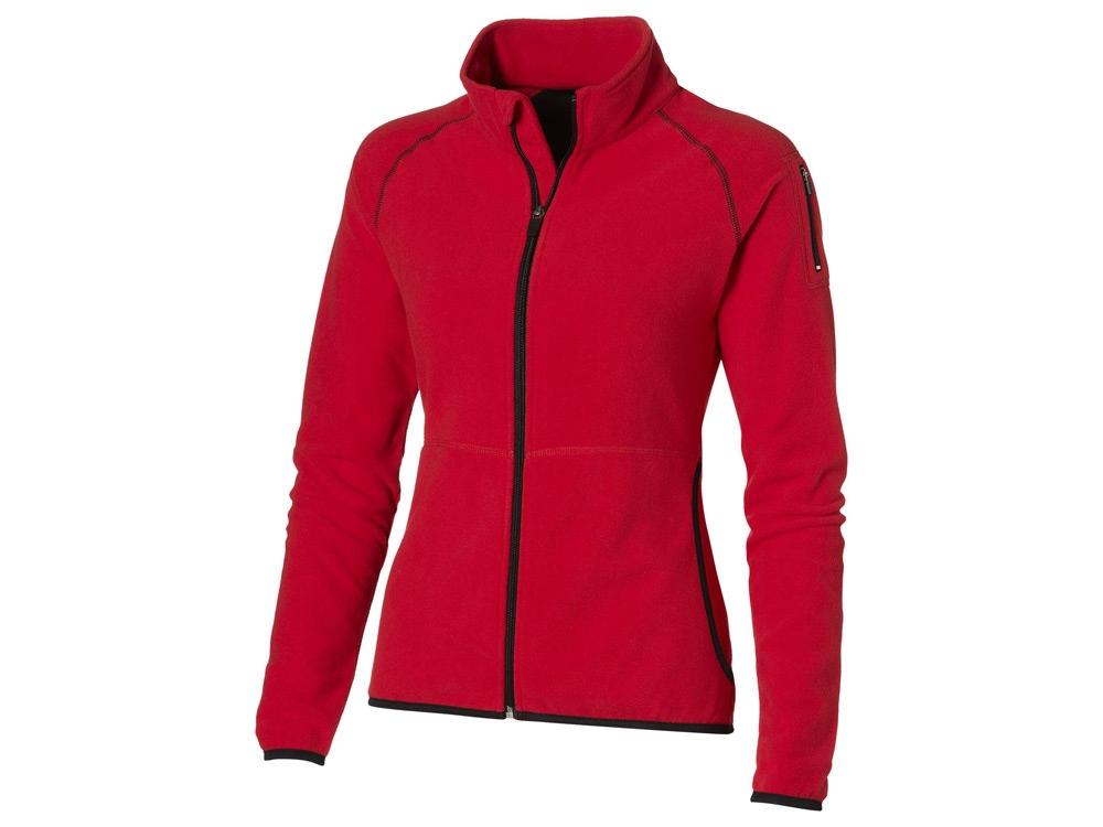 Куртка Drop Shot из микрофлиса женская, красный