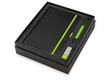 Подарочный набор «Q-edge» с флешкой, ручкой-подставкой и блокнотом А5 (арт. 700322.03), фото 2