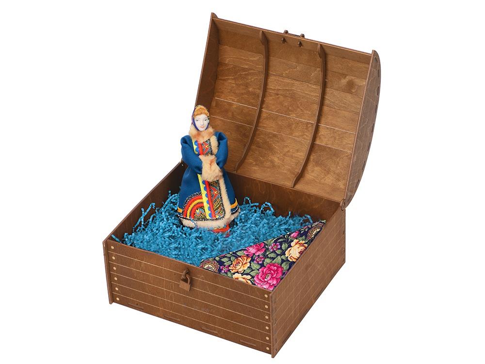 Подарочный набор Ксения: кукла, платок