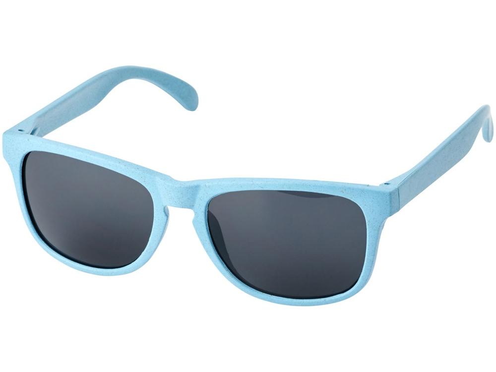 Солнцезащитные из пшеничной соломы очки Rongo, синий