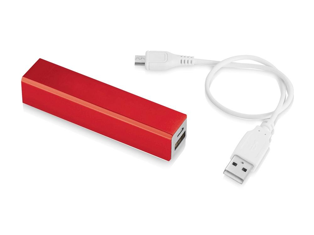 Портативное зарядное устройство Volt, красный