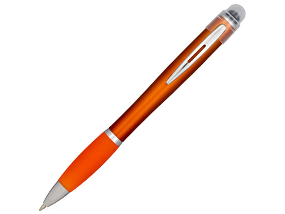 Ручка цветная светящаяся Nash, оранжевый