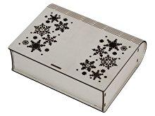 Деревянная коробка с резной крышкой «Книга», М (арт. 625303)