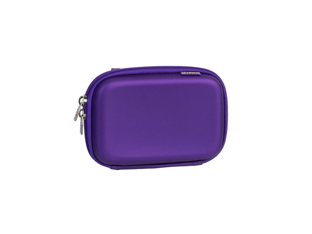 Чехол для жесткого диска из кожзама 9101, фиолетовый