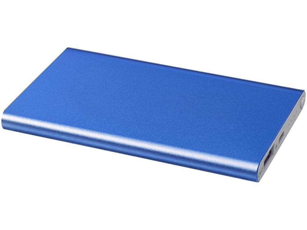 Портативное зарядное устройство Pep 4000 mAh, ярко-синий