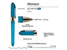 Ручка пластиковая шариковая «Monaco» (арт. 20-0125.23), фото 3