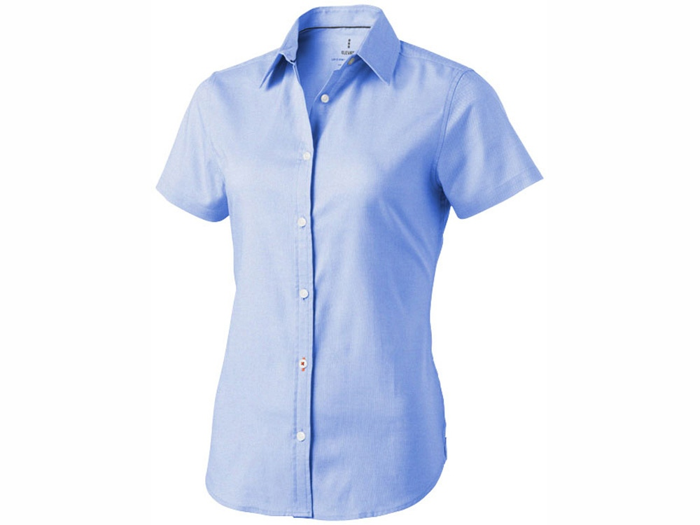 Рубашка Manitoba женская с коротким рукавом, голубой