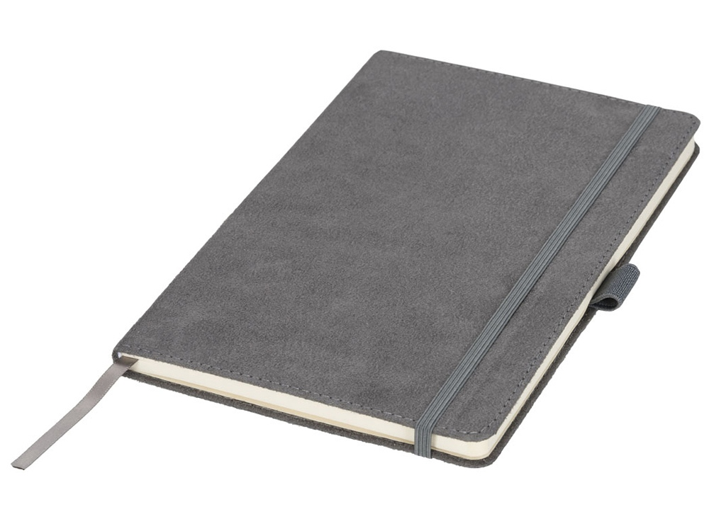 Блокнот А5 Suede, серый