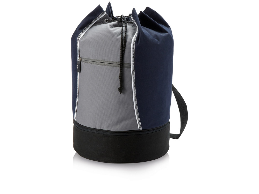Сумка-мешок Brisbane, синий/серый