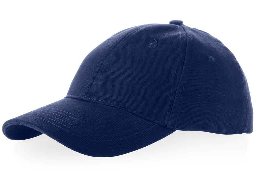 Бейсболка Bryson, 6 панелей, темно-синий