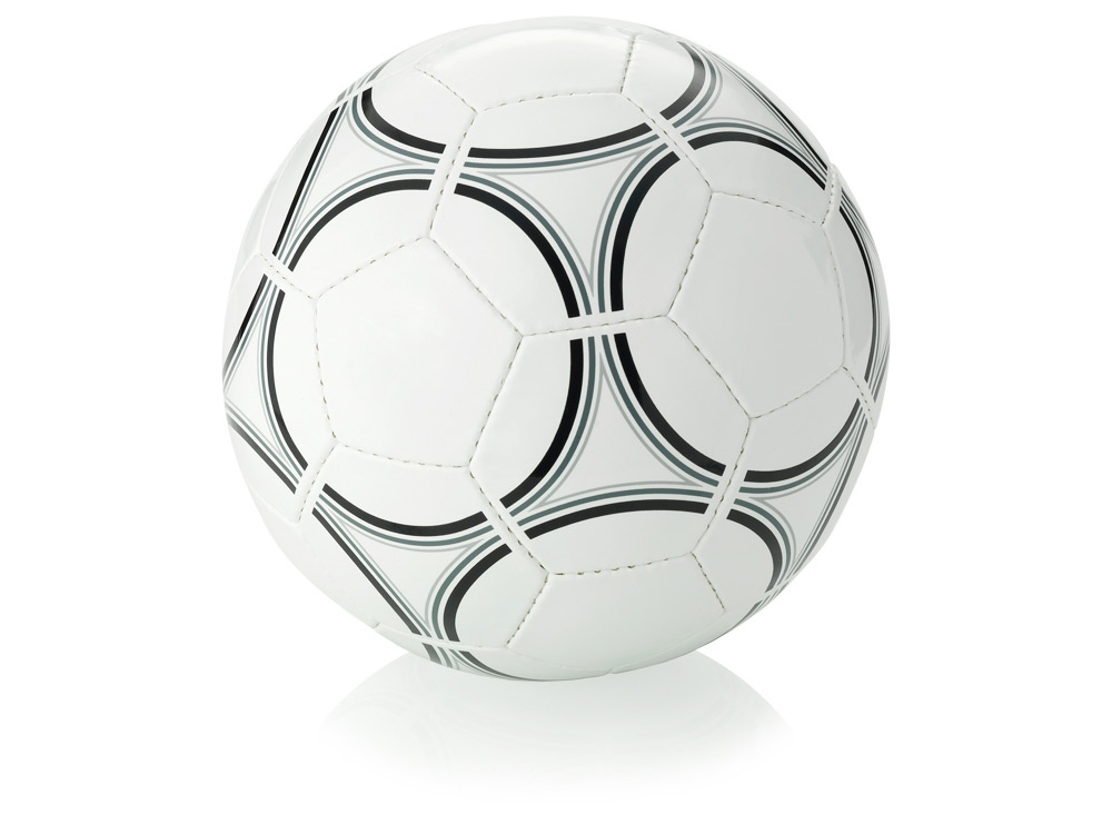 Мяч футбольный Victory в стиле ретро, размер 5, белый