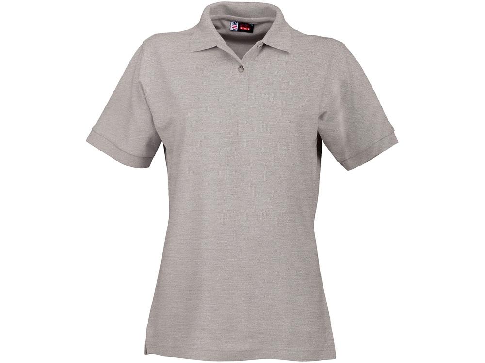 Рубашка поло Boston женская, пепельно-серый