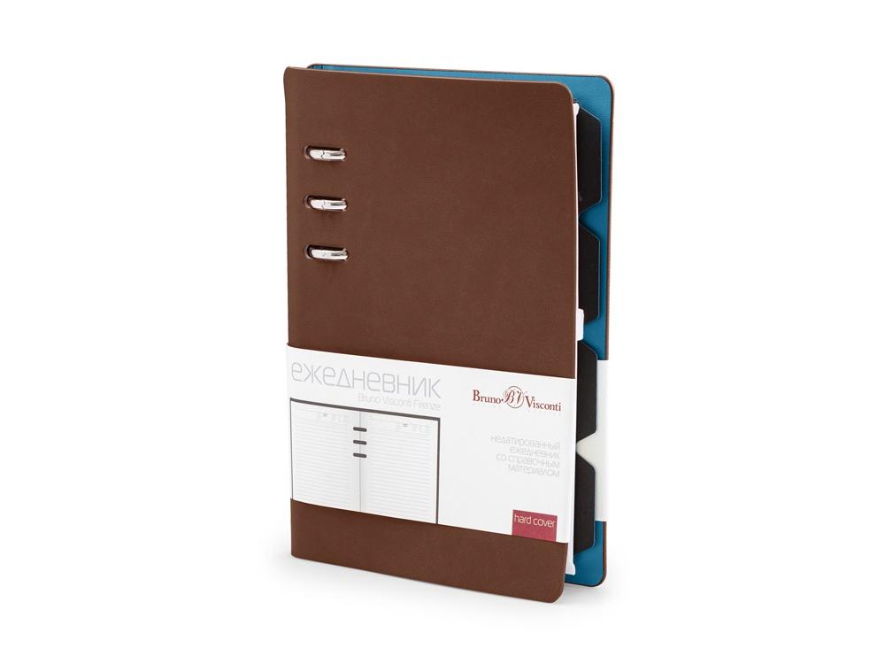 Ежедневник недатированный А5 Firenze, коричневый