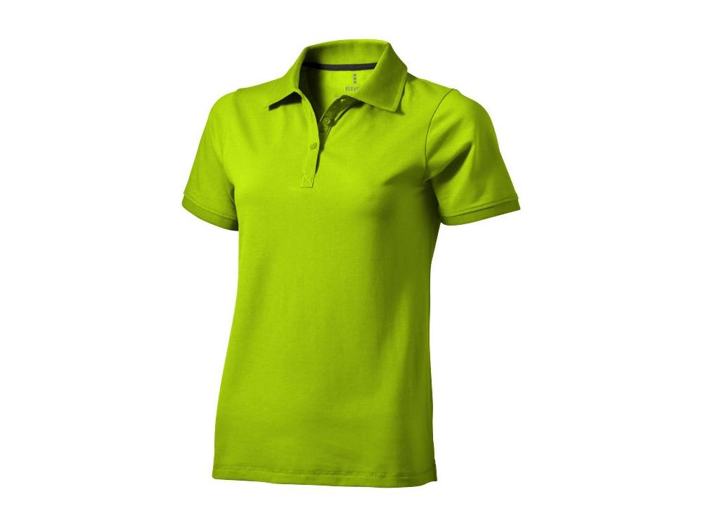 Рубашка поло Yukon женская, зеленое яблоко