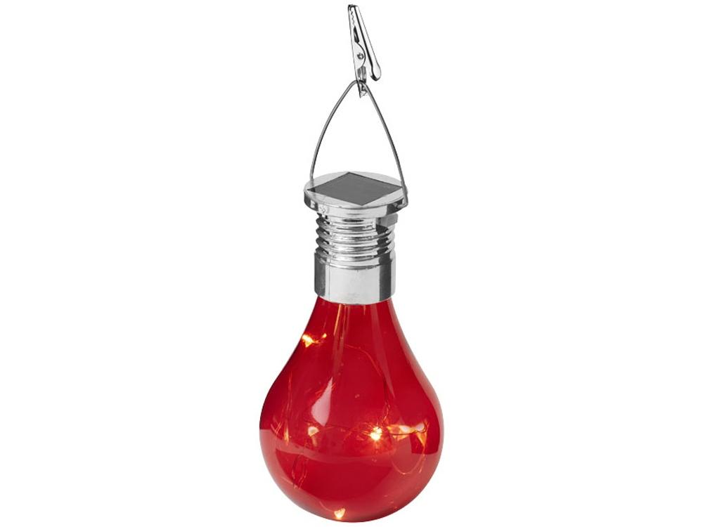 Солнечный диодный фонарь Surya, красный