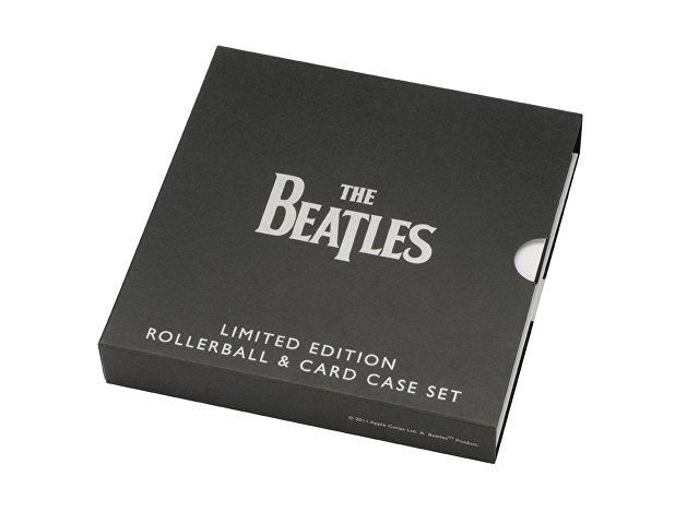 Набор The Beatles «WHITE ALBUM»: визитница, ручка-роллер