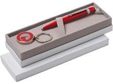 Подарочный набор: брелок с флеш-картой на 4 Гб, ручка шариковая (арт. 67184)
