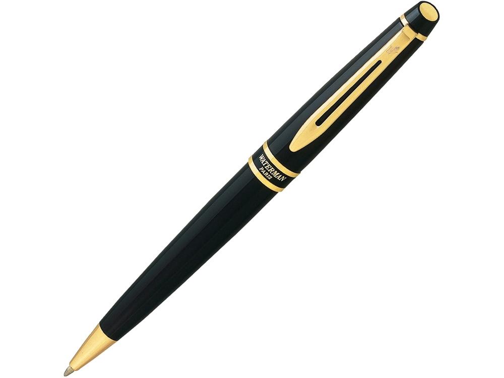 Ручка шариковая Waterman модель Expert 3 Black GT в футляре