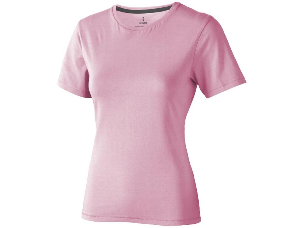 Футболка Nanaimo женская, светло-розовый