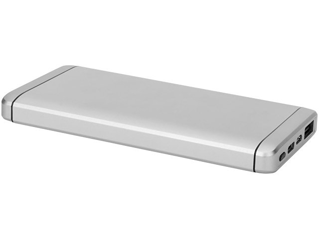 Повербанк PB-10000 Type-C, серебристый