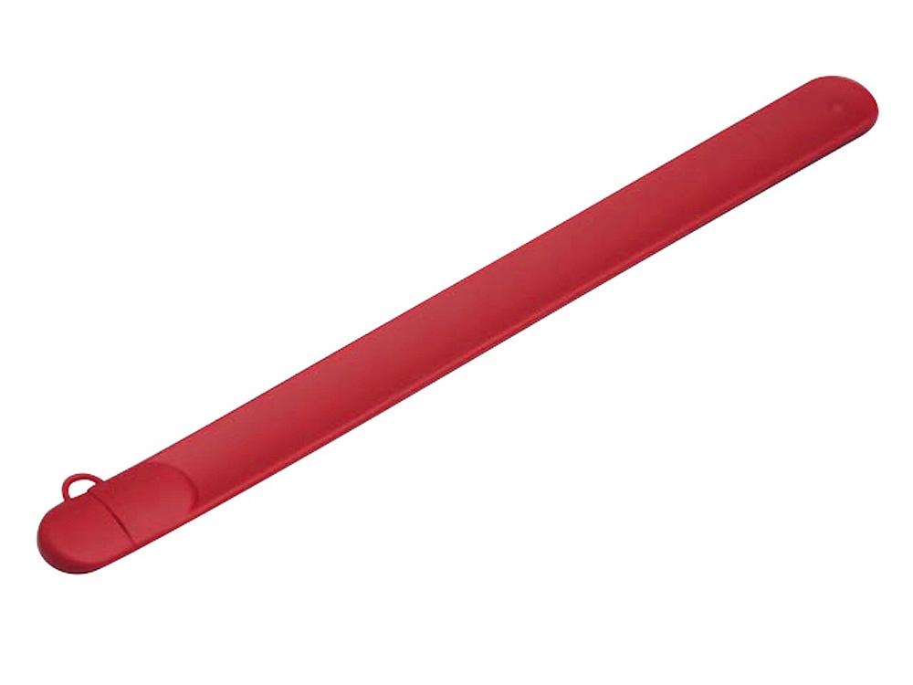 Флешка в виде браслета, 64 Гб, красный