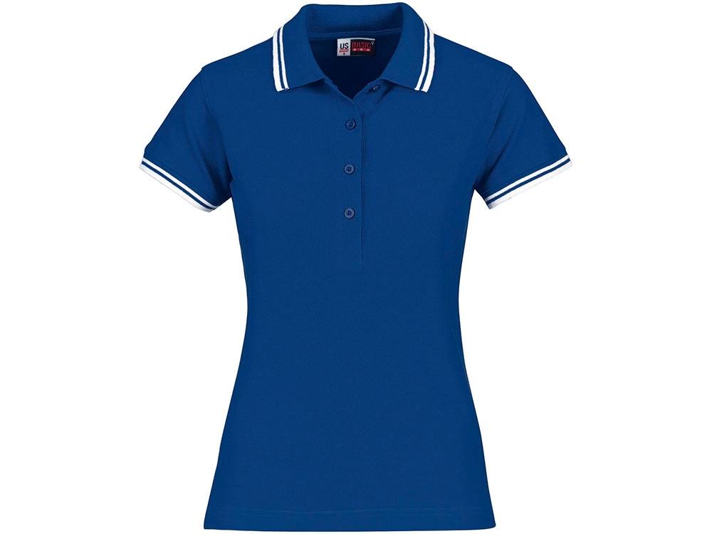 Рубашка поло Erie женская, классический синий