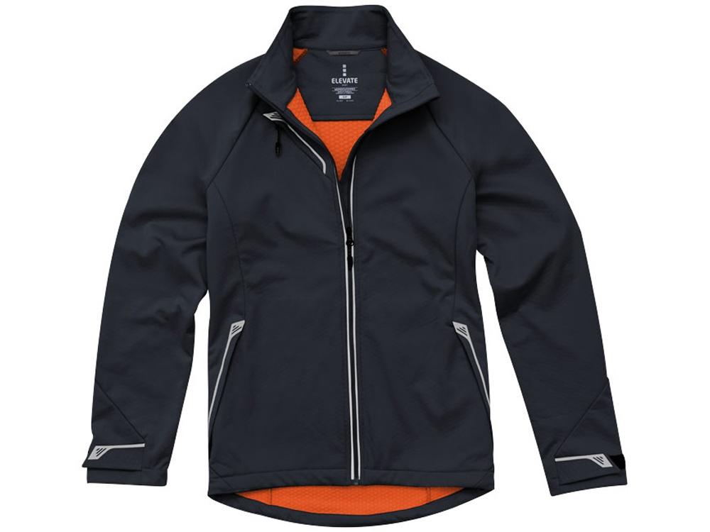 Куртка софтшел Kaputar женская, темно-серый