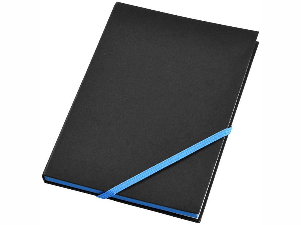 Блокнот А5 Travers, черный/голубой