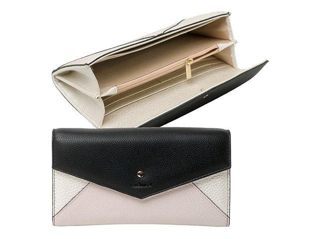 Дамский кошелек Beaubourg Black & Cream (арт. CEL735A)