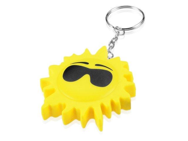 Брелок-рулетка «Солнце», 1м