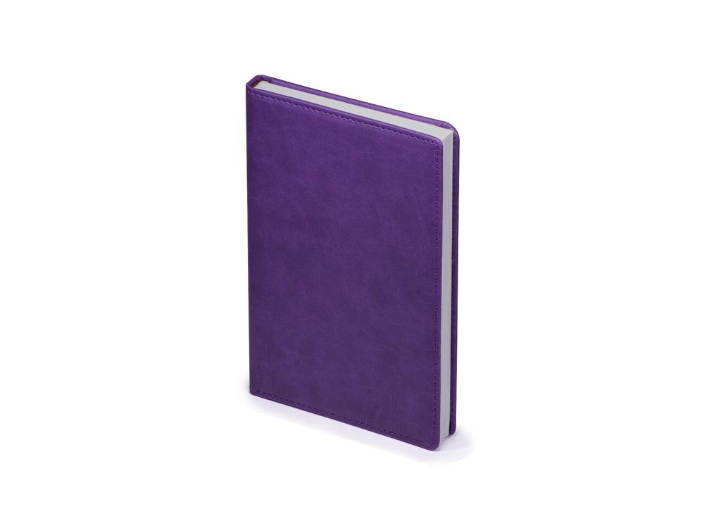Ежедневник недатированный А5 Velvet, фиолетовый