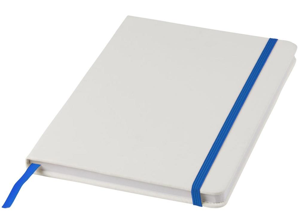 Блокнот А5 Spectrum, белый/ярко-синий