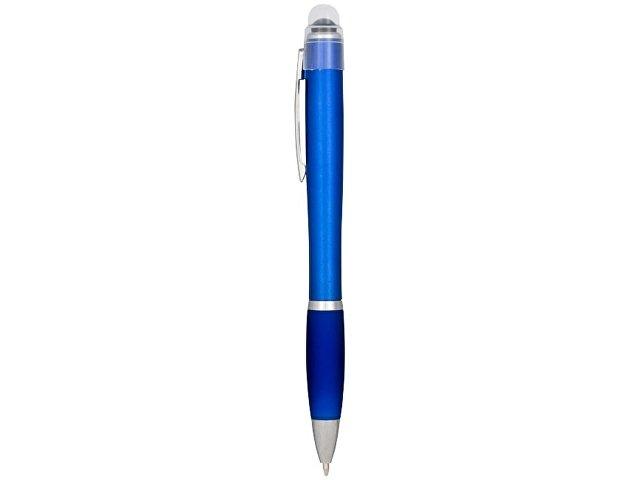 Ручка цветная светящаяся Nash, синий