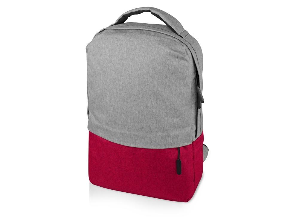 Рюкзак Fiji с отделением для ноутбука, серый/красный
