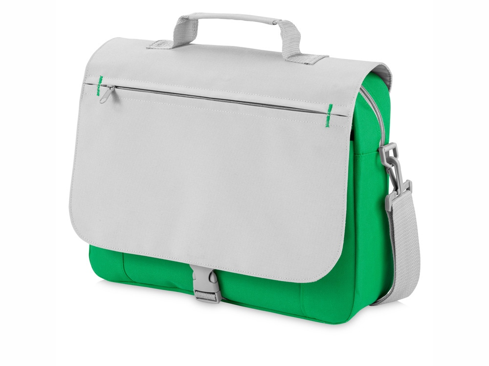 Сумка для документов Pittsburgh, светло-зеленый/серый