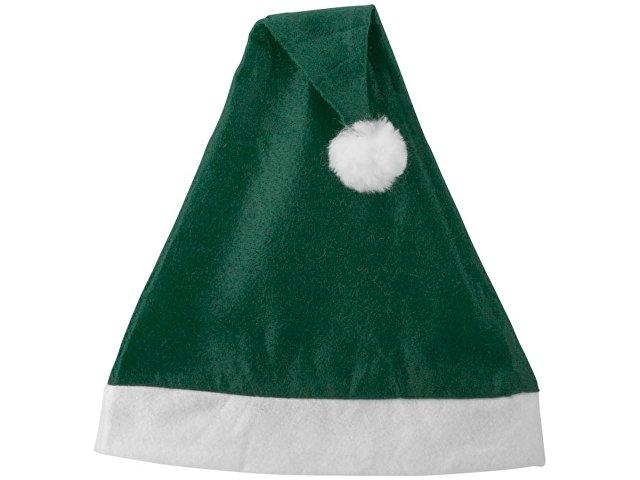 Новогодняя шапка, зеленый/белый