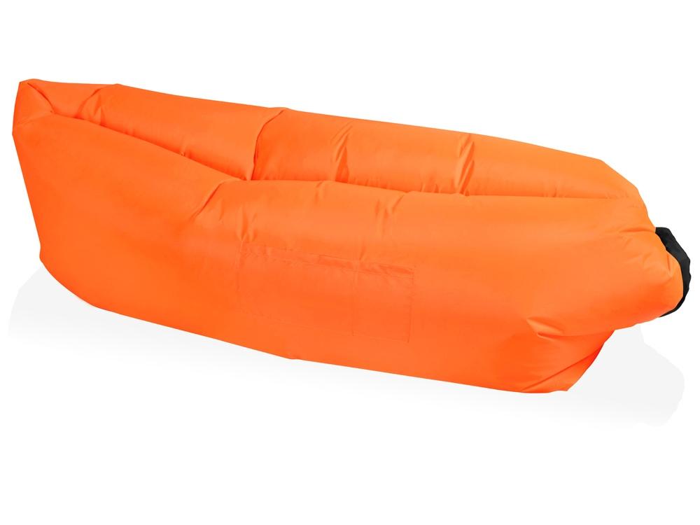 Надувной диван Биван, оранжевый