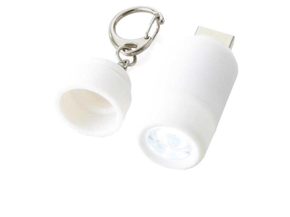 Мини-фонарь Avior с зарядкой от USB, белый