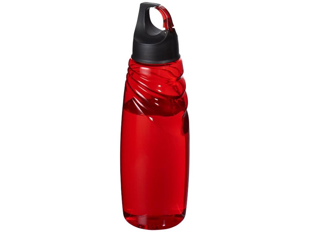Спортивная бутылка Amazon Tritan™ с карабином, красный