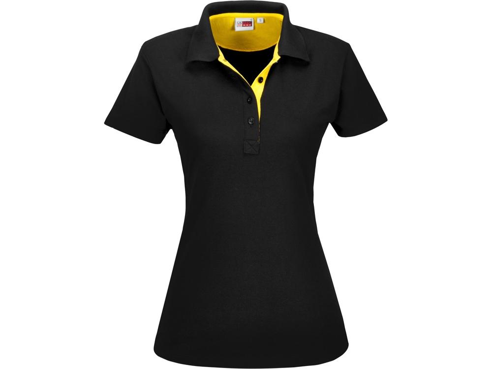 Рубашка поло Solo женская, желтый