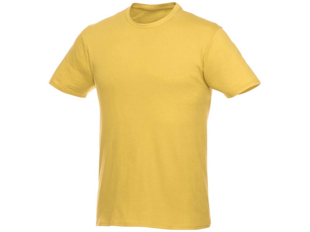 Футболка-унисекс Heros с коротким рукавом, желтый