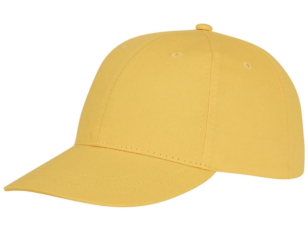 Шестипанельная кепка Ares, желтый
