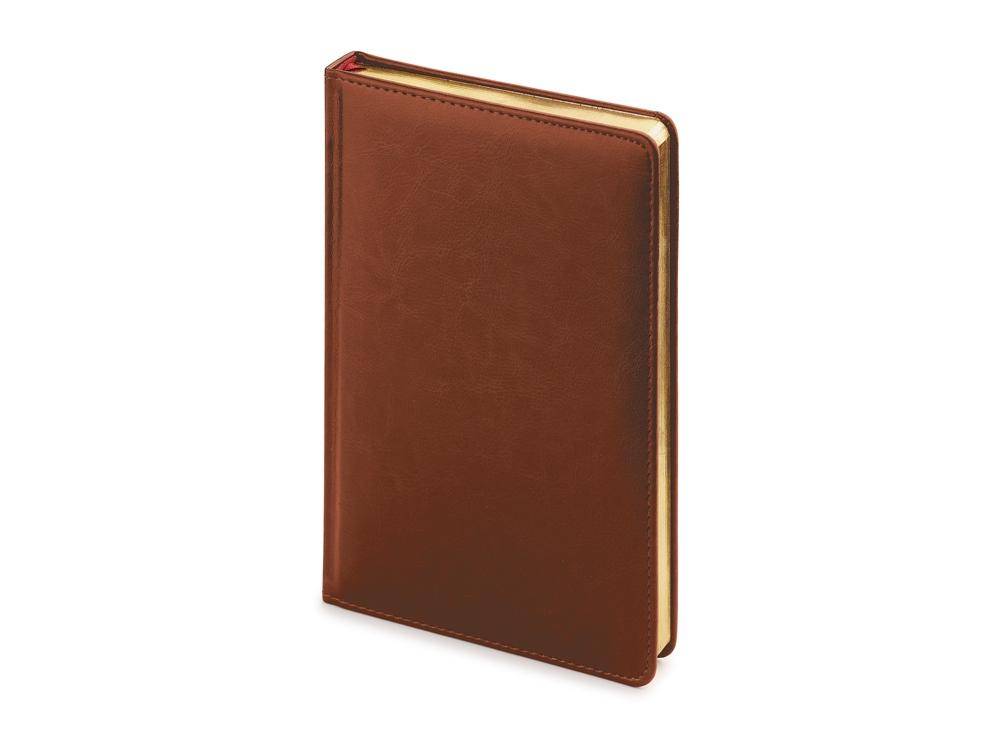 Ежедневник недатированный А4 Sidney Nebraska, коричневый