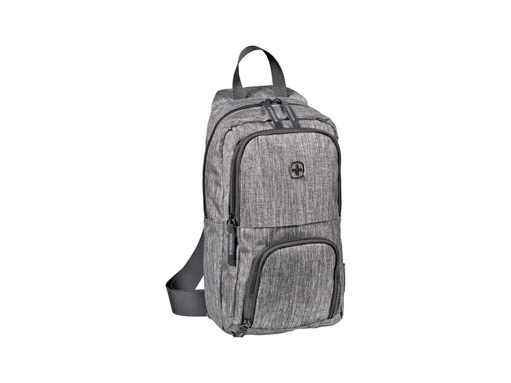 Рюкзак WENGER с одним плечевым ремнем 8 л, темно-серый