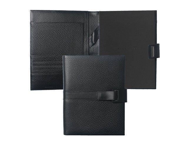 Папка для конференций А5 Pure Leather Black